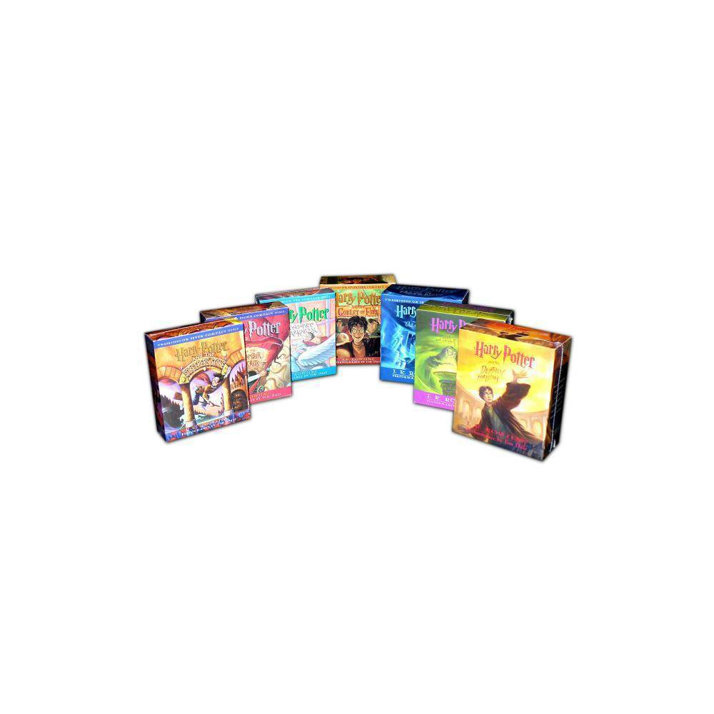 Harry Potter 1-7 Audio Collection - by J K Rowling (AudioCD)