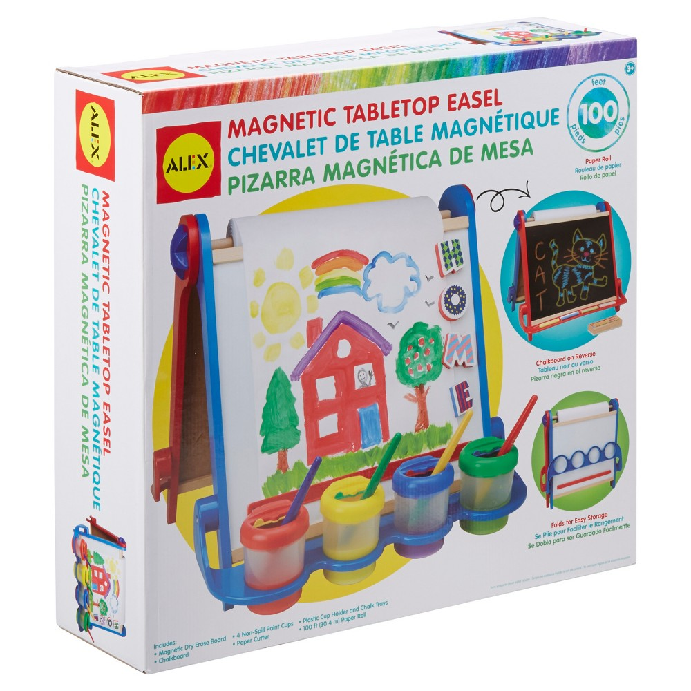 Image of ALEX Toys Artist Studio Magnetic Tabletop Easel Wood