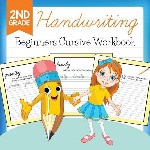 2nd Grade Handwriting - by  Baby Professor (Paperback) - image 1 of 1