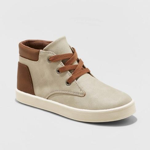 Boys' Jakob Boots - Cat & Jack™ Gray - image 1 of 3