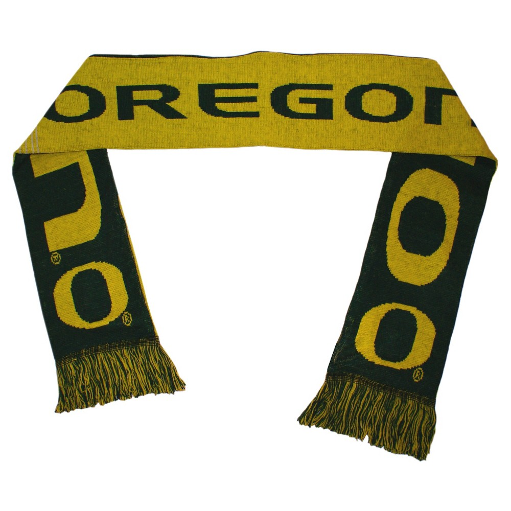 Forever Collectibles - NCAA Reversible Split Logo Scarf University of Oregon Ducks, Kids Unisex