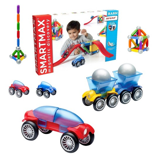 SmartMax Basic Stunt Set, magnetic building sets image number null