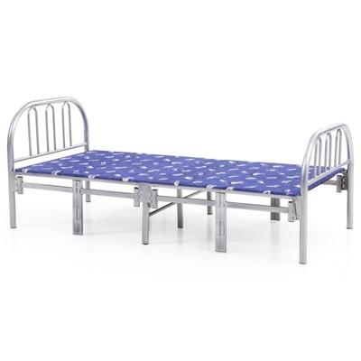 Folding Bed in Silver Gray - Hodedah