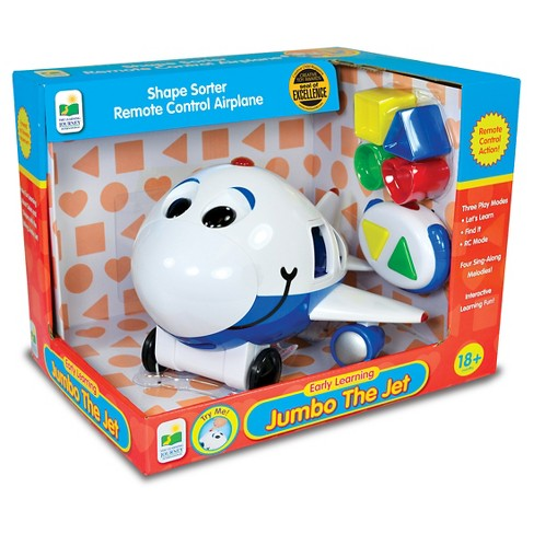The Learning Journey Remote Control Shape Sorter, Jumbo The Jet Plane - image 1 of 2