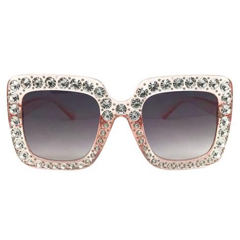 Women's Square Sunglasses - Wild Fable™ Pink - image 1 of 4