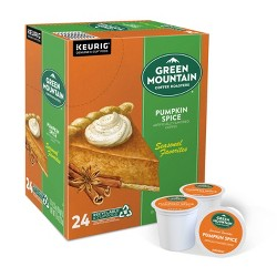 Green Mountain Pumpkin Spice Light Roast Coffee - Keurig K-Cup Pods - 24ct