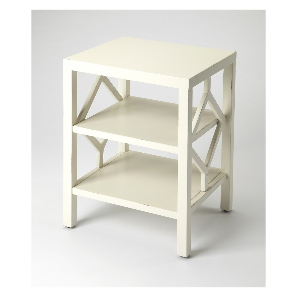 Butler Specialty Halcyon End Table White
