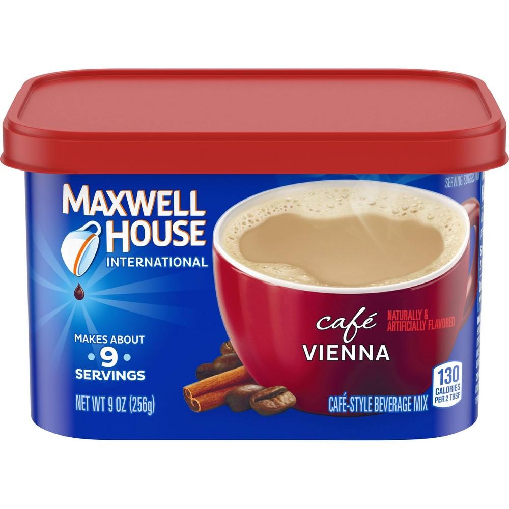 Maxwell House International Caf 233 Vienna Medium Roast Beverage Mix 9oz
