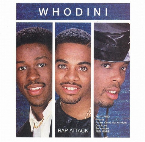 Whodini - Rap attack (CD) - image 1 of 1