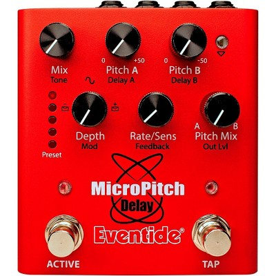 Eventide MicroPitch Delay Effects Pedal Red