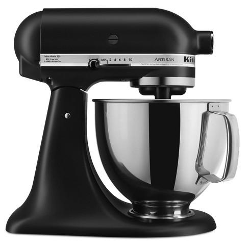 KitchenAid Artisan Stand Mixer - Matte Black KSM150