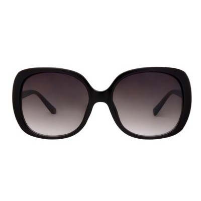 Women's Smoke Sunglasses - A New Day™ Black