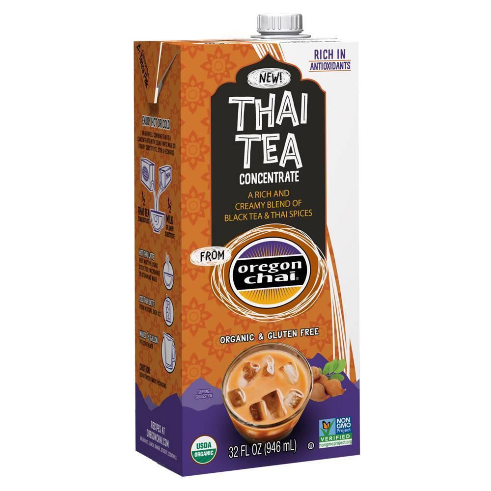 Oregon Chai Thai Tea Concentrate 32 Fl Oz