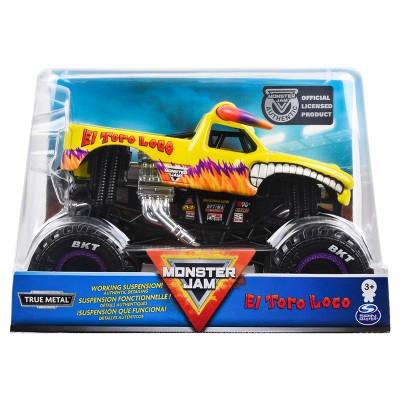 Monster Jam Official El Toro Loco Monster Truck Die-Cast Vehicle - 1:24 Scale