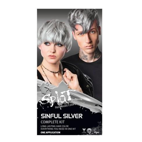 Splat Hair Color Kit - 10.28 fl oz - Sinful Silver - image 1 of 4