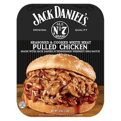 Jack Daniel's Seasoned & Cooked Pulled Chicken - 16oz