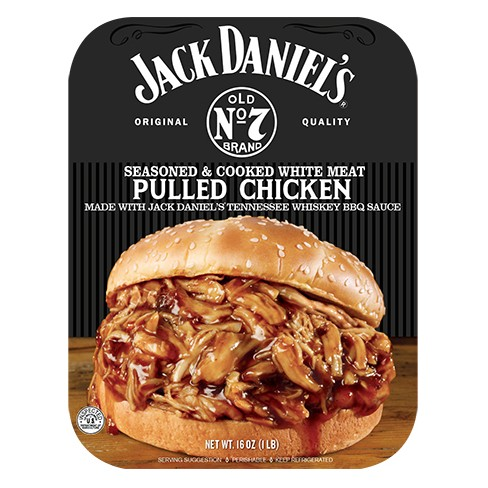 Jack Daniel's Seasoned & Cooked Pulled Chicken - 16oz - image 1 of 4