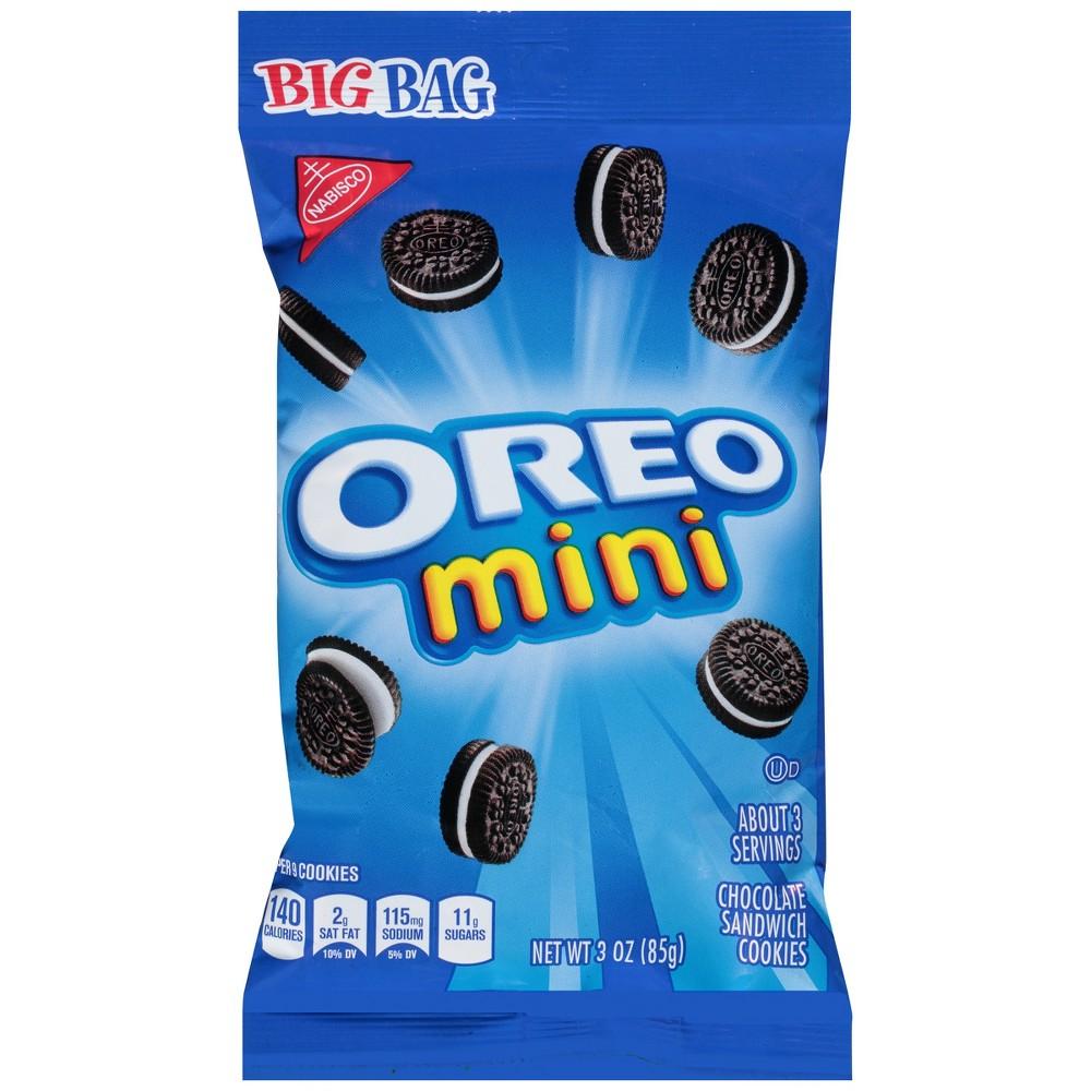 Oreo Mini Chocolate Sandwich Cookies - Big Bag - 3oz