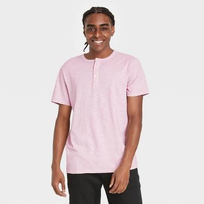 Men's Relaxed Fit Short Sleeve Henley T-Shirt - Goodfellow & Co™