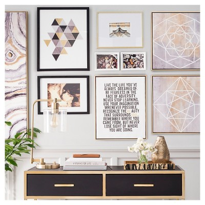 Black White Organized Gallery Wall Collection Target