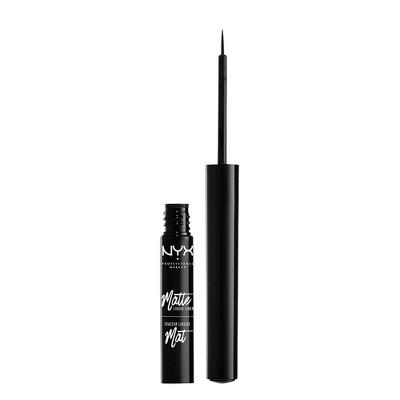 NYX Professional Makeup Matte Liquid Eyeliner Black - 0.06oz