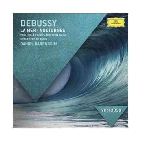 Daniel Barenboim - Virtuoso: Debussy- La Mer/Nocturnes/Prelude A L'apres-Midi D'un Faun (CD) - image 1 of 1