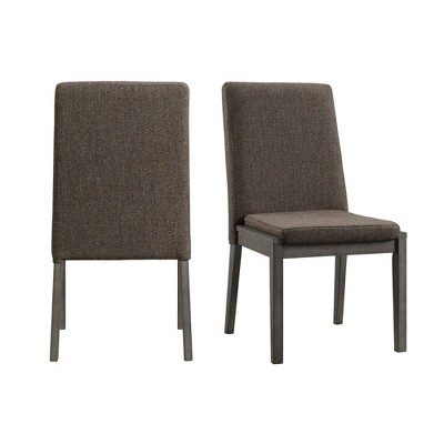 2pc Hudson Side Chair Set Gray - Picket House Furnishings