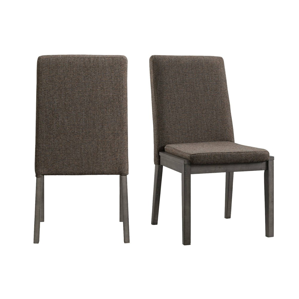 Image of 2pc Hudson Side Chair Set Gray - Picket House Furnishings