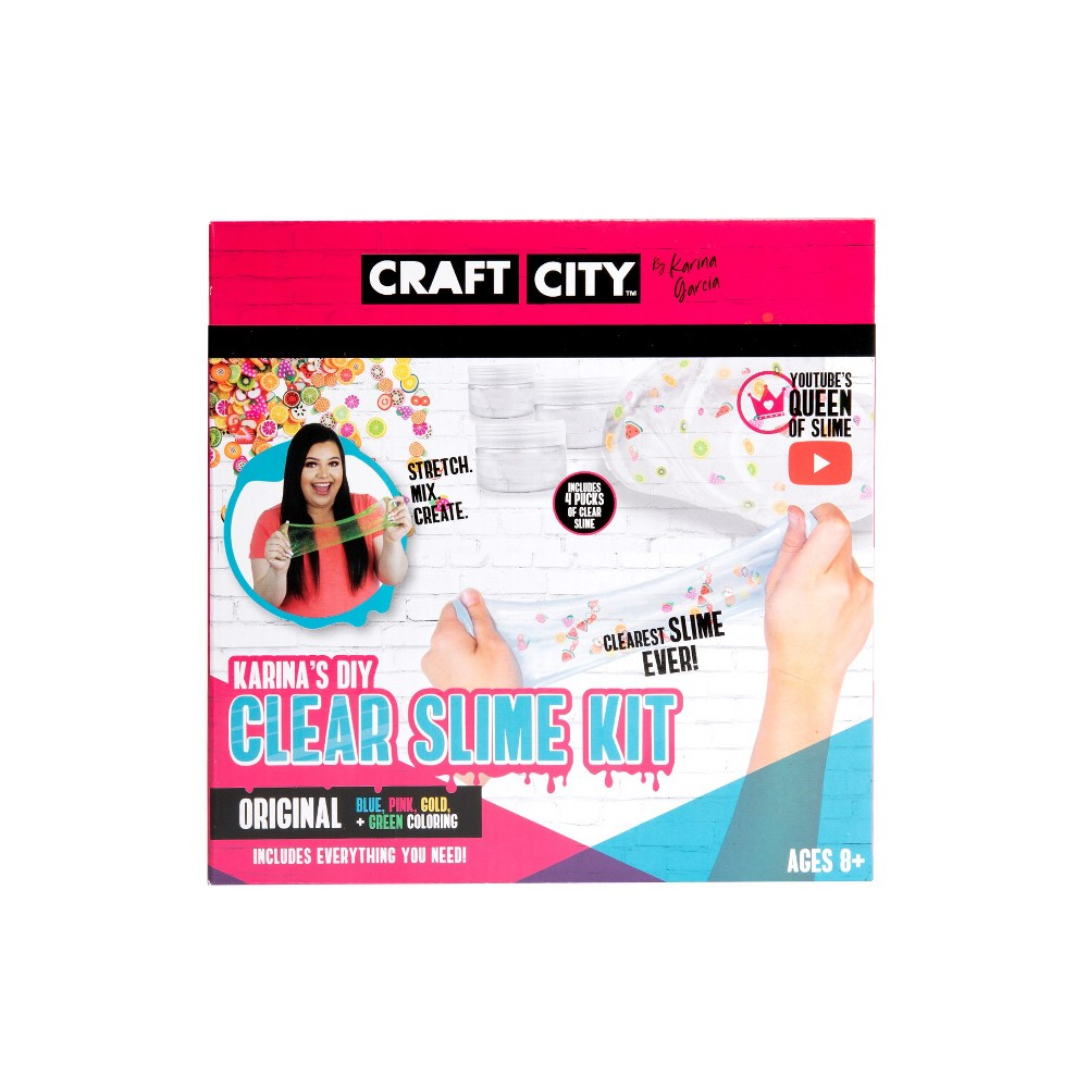 Craft City DIY Clear Slime Kit Karina Garcia was $19.99 now $12.99 (35.0% off)