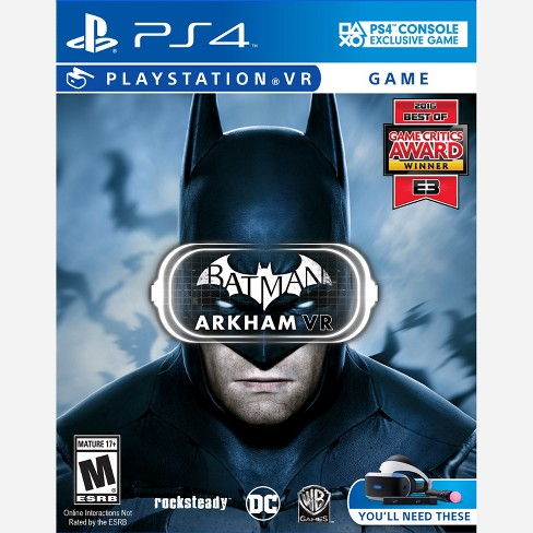 Batman Arkham VR PRE-OWNED - PlayStation 4 - image 1 of 1