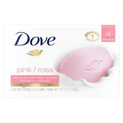 Bar Soap: Dove Beauty Bar Pink