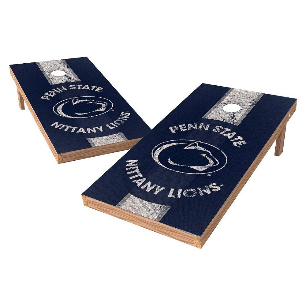 Penn State Nittany Lions Wild Sports 2' x 4' Heritage Design Authentic Cornhole Set