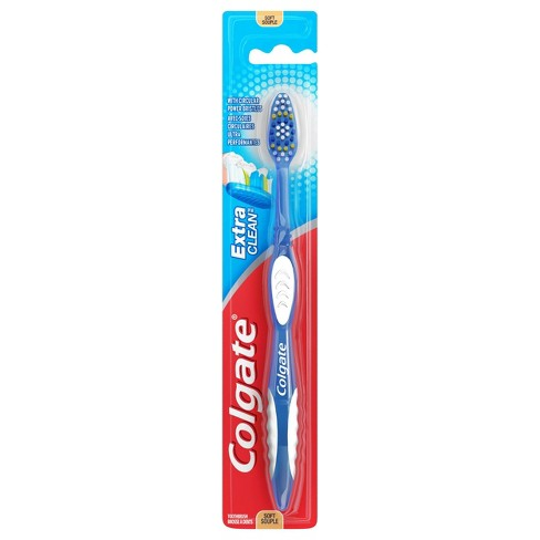 Colgate Extra Clean Full Head Toothbrush - Soft Bristles - 1ct - image 1 of 4