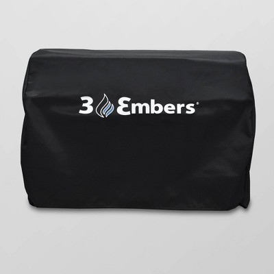 Drop In Grill Cover Black - 3 Embers