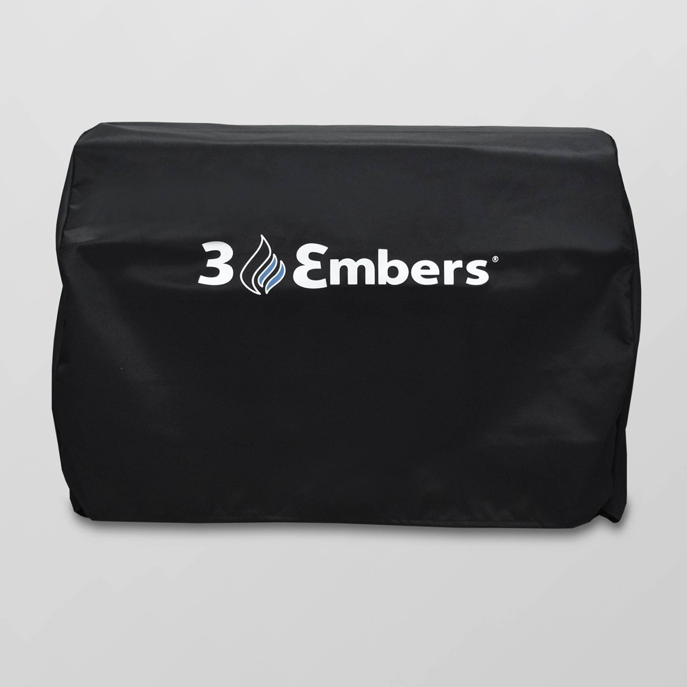 Image of Drop In Grill Cover Black - 3 Embers