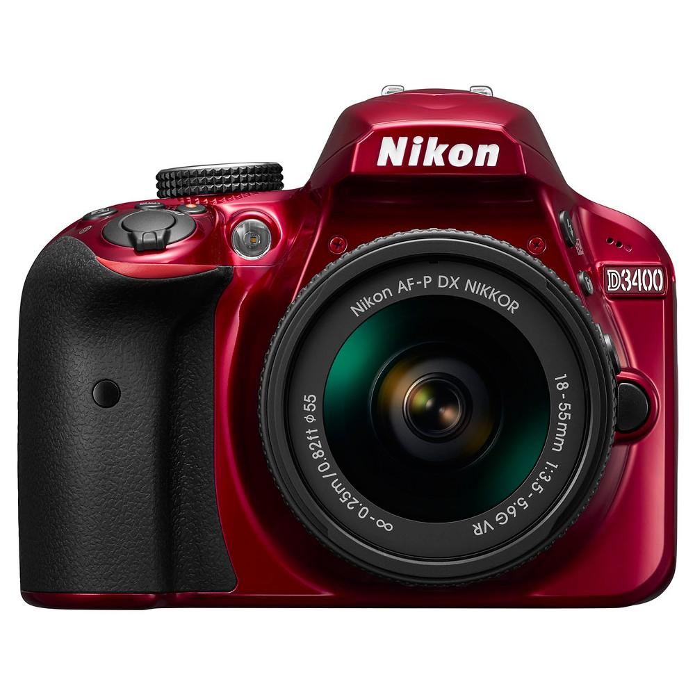Nikon D3400 18-55mm Kit - Red (1572)