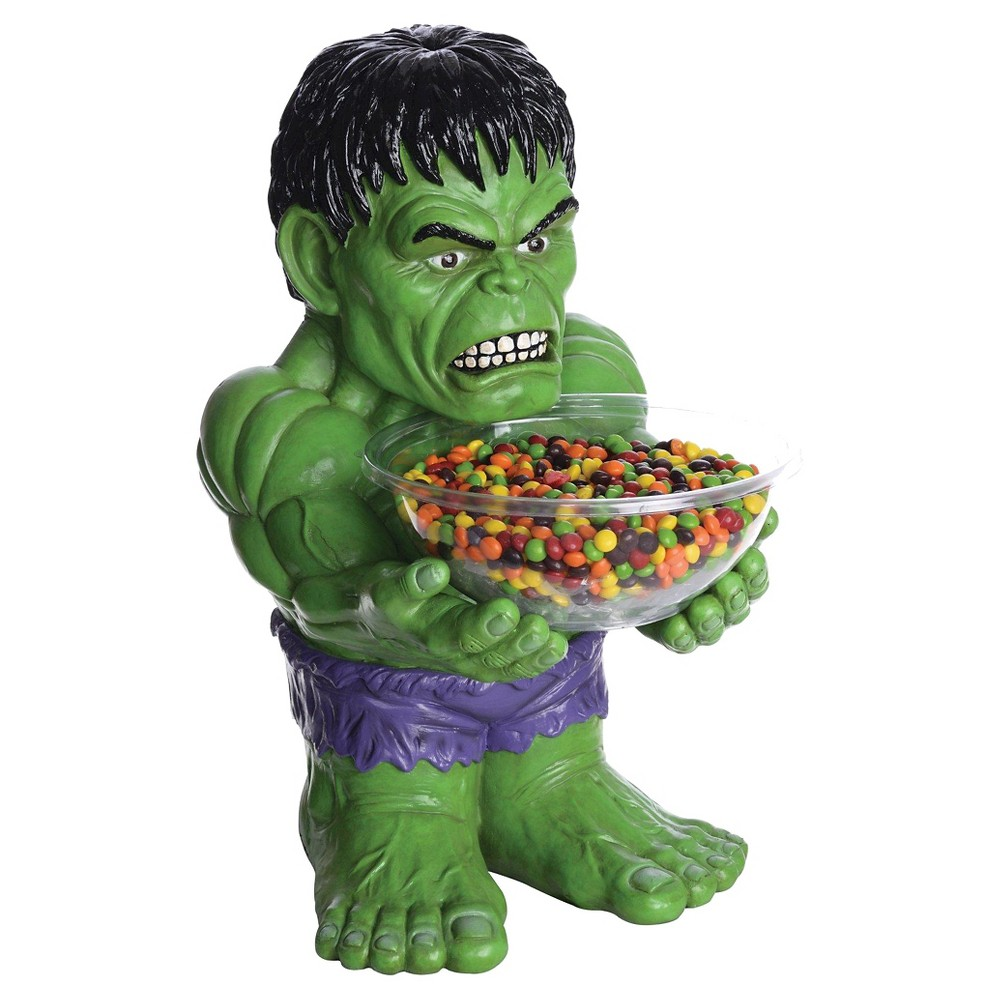 Image of Avengers The Hulk Candy Bowl, Green