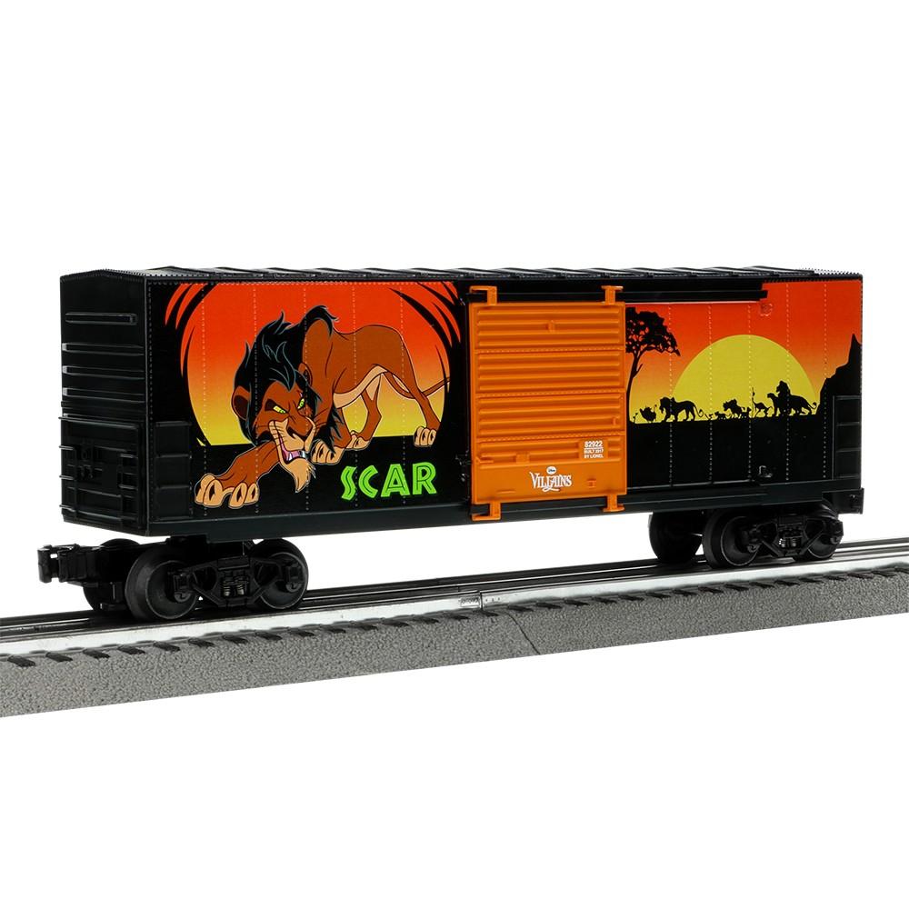 Lionel Disney Villains Scar Hi-Cube boxcar