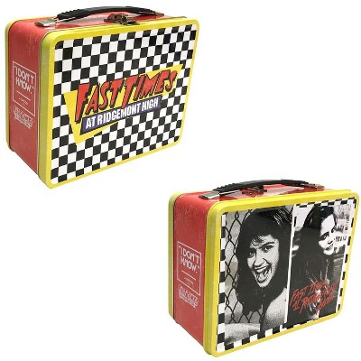 Factory Entertainment Fast Times at Ridgemont High 8.5 x 6.5 x 4 Inch Retro Style Tin Tote