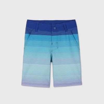 Boys' Hatching Hybrid Swim Shorts - art class™ Navy