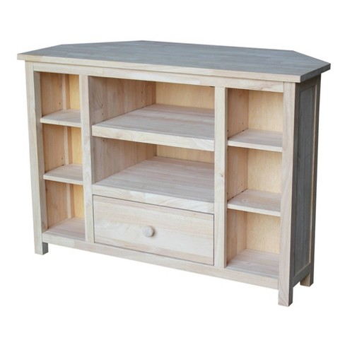 "Corner Entertainment TV Stand 39"" - International Concepts - image 1 of 4"