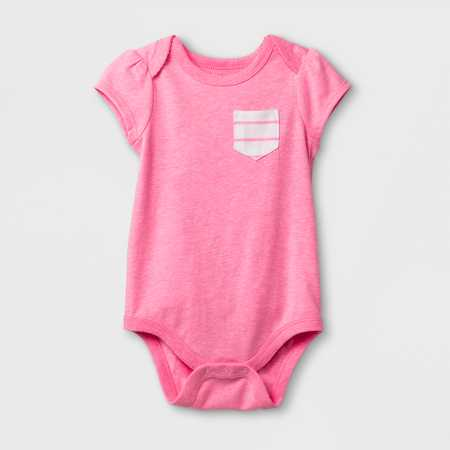 d50fb641c Baby Girls  3 4 Sleeve  Love You  Bodysuit - Cat   Jack™ White   Target
