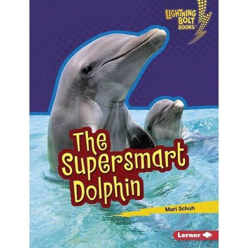 The Supersmart Dolphin - (Lightning Bolt Books (R) -- Supersmart Animals) by  Mari C Schuh (Hardcover) - image 1 of 1