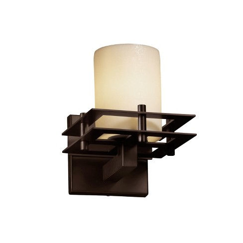Justice Design Group CNDL-8171-10-CREM CandleAria 1 Light Bathroom Sconce - image 1 of 1