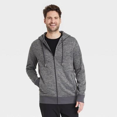 Men's Standard Fit Full-Zip Hooded Sweatshirt - Goodfellow & Co™