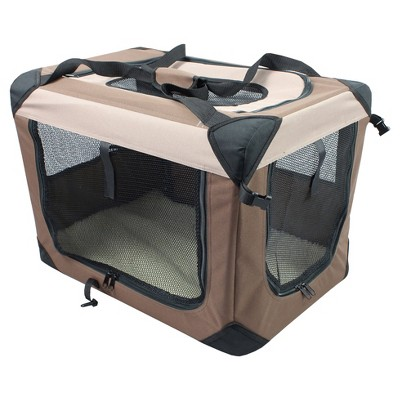 Multipurpose Soft Crate with Fleece Mat For Dog and Cat