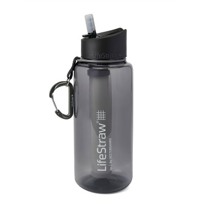 LifeStraw Go 34oz Water Bottle with Filter