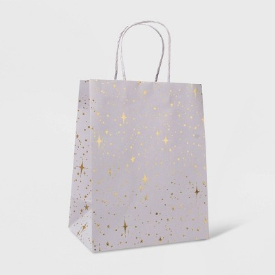 Small Stars on Gift Bag Gray - Spritz™