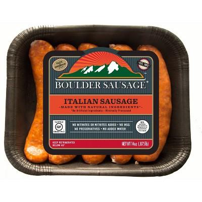 Boulder Italian Sausage Links - 14oz/5ct