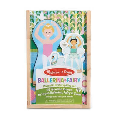 Melissa & Doug Magnetic Dress-Up Play Set - Ballerina/Fairy